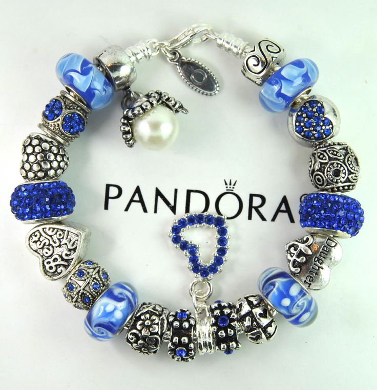 pandora charms daughter blue