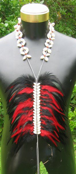 Hot Macho Lei Breastplate by native sista