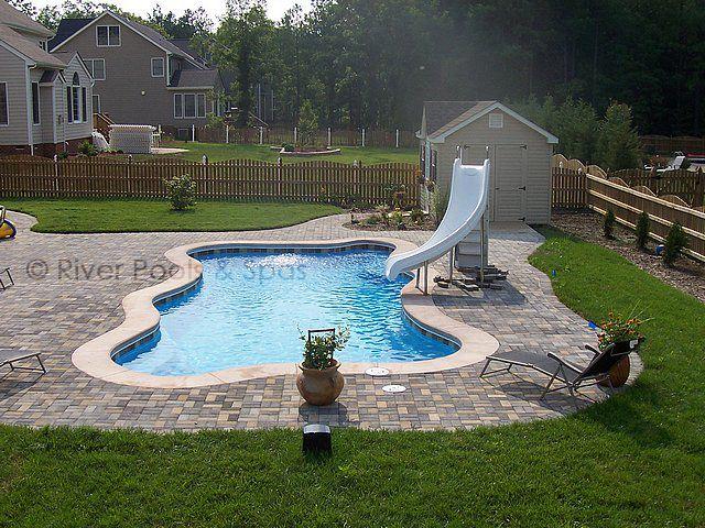 Fiberglass Pools, Paradise Inground Pools