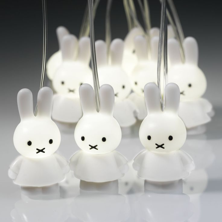 Miffy String 'Fairy' lights (White)