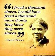 Harriet Tubman.. MAGNIFICENT LEADER.