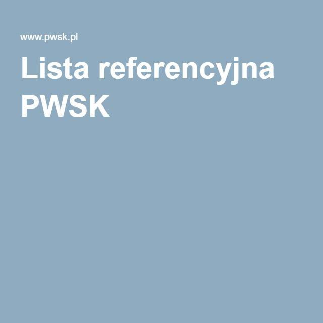 Lista referencyjna firmy #PWSK stale się powiększa!