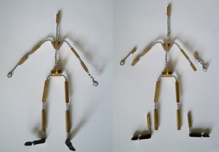 Stop Motion Puppet Armature