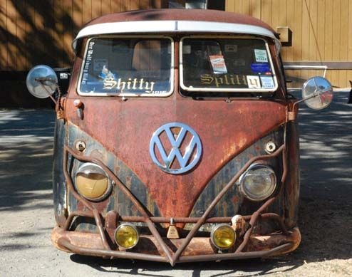 'Shitty Splitty' spotted | 【Volkswagen Type 2】 | Pinterest ...