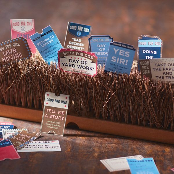 Homemade Father's Day Gifts: Coupon Printables