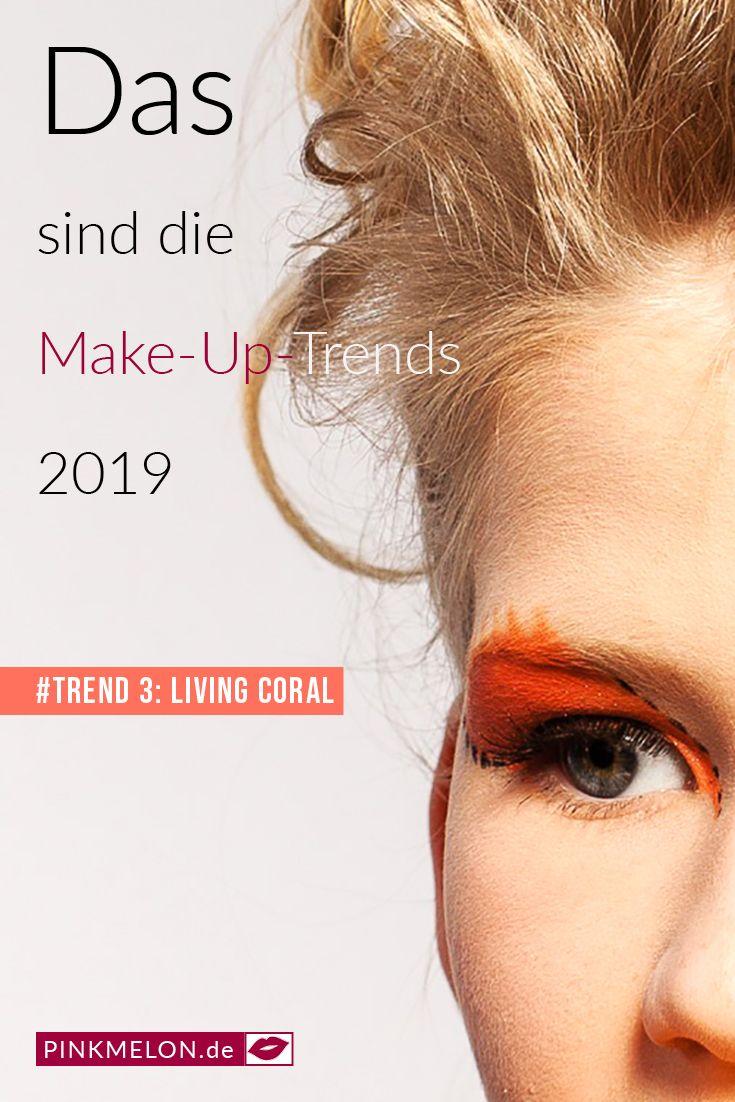 Das sind die Make-Up-Trends 2019 #frühling #Beauty #makeup #schminken #frühlin…