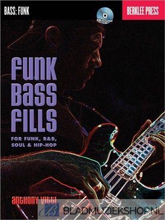 Funk bass fills +cd (funk r&b soul & hip hop)