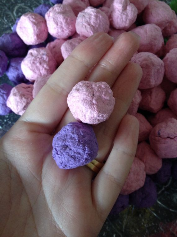 Fairy Garden Seed Bombs by ChristalClean on Etsy