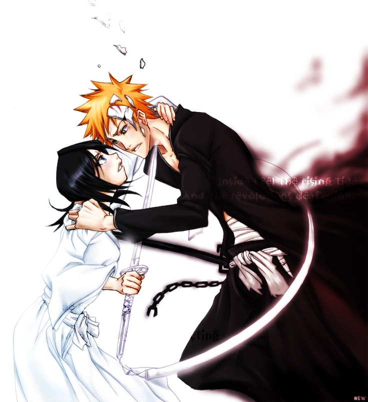 17+ best images about ichigo x rukia on Pinterest | Bleach ...