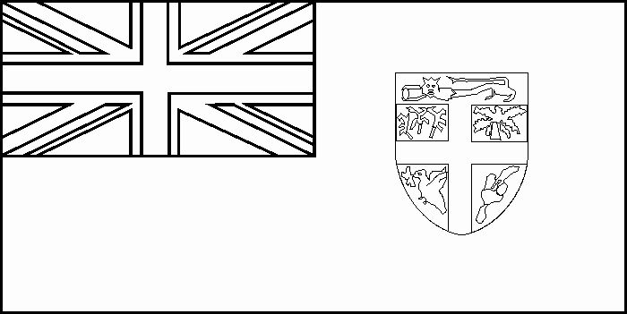 Fiji Flag Coloring Page In 2020 Flag Coloring Pages Coloring