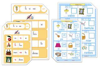 IPOTÂME ....TÂME: CP : 2 jeux avec les syllabes