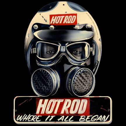 For Christmas shipping, order must be made on or before Nov. 29th because this is a made-to-order item so there's a long production time on top of shipping. From the Hot Rod Magazine licensed collecti