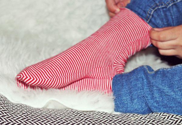 Refashion: Socken selber nähen | Ninutschkanns.com