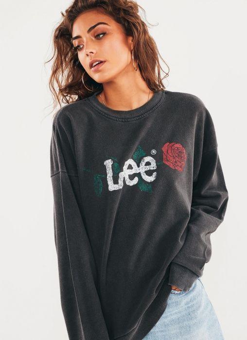 Cocoon Crew Sweatshirt - Pigment Black