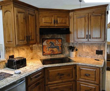 "southwestern back splash ideas | Southwest Horse 3 - 20 Tile Mural on 6"" tiles. 30"" wide by 24"" tall ..."