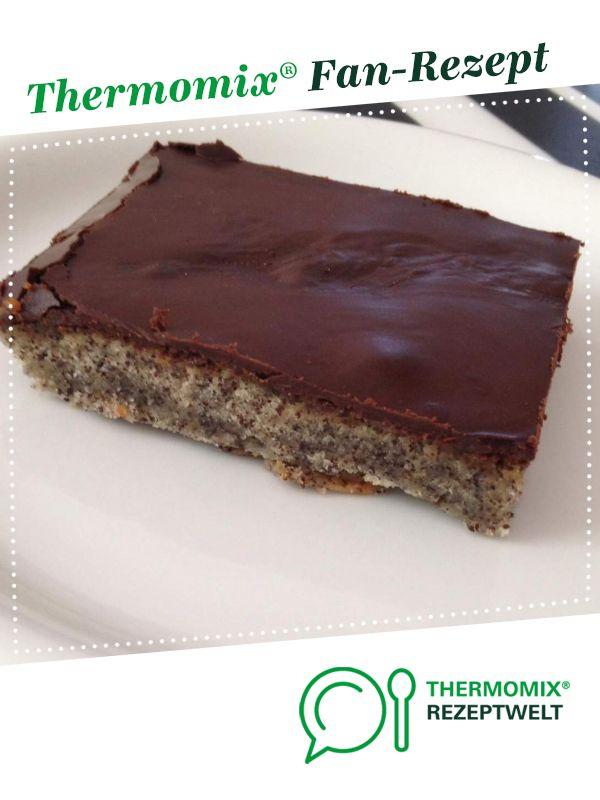 Schoko Mohnkuchen Rezept Kuchen Thermomix Kuchen Backen