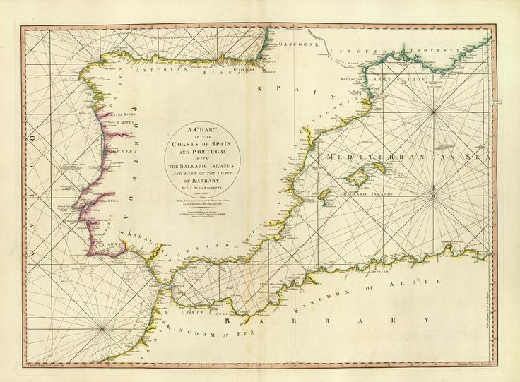 spain + portugal + barbary coast