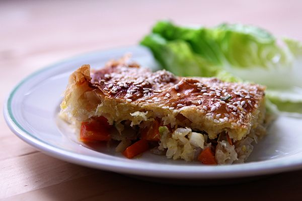 Phyllo dough fish pie | http://anotherhouseblog.com/2014/06/11/phyllo-dough-fish-pie/