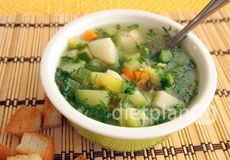 Итальянский суп минестроне | Диетические низкокалорийные рецепты - блюда правильного питания на Dietplan.ru