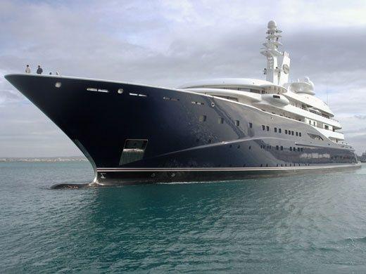 Mega Yacht ~ al Mirqab