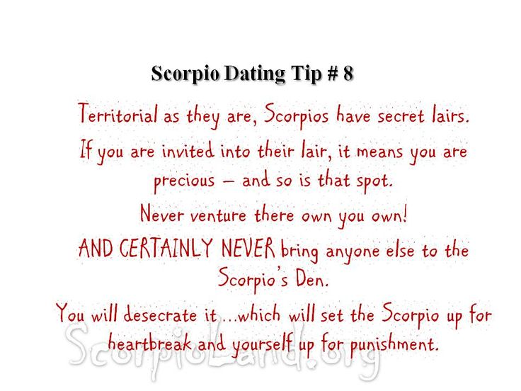 Online Dating for Seductive Scorpios