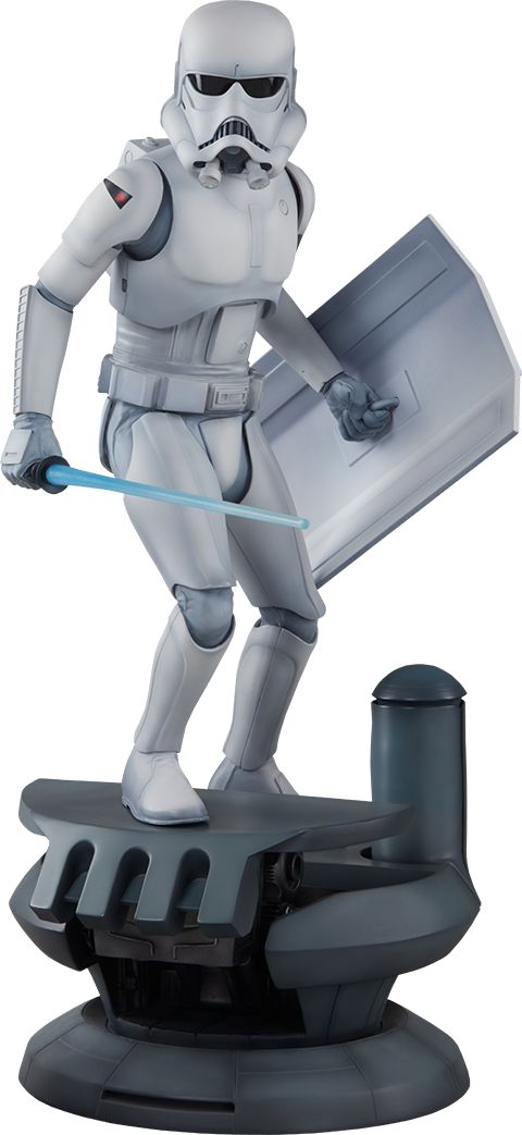 Ralph McQuarrie Stormtrooper Statue sideshow