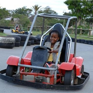 Meropa Casino and Entertainment World, located in Limpopo, has something for the whole family. The kids will be entertained with go-carts and mini golf!