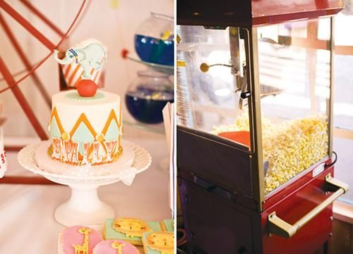 Fiesta infantil temática circo vintage: Child Parties, Infantil Temática, Infantiles Piratas