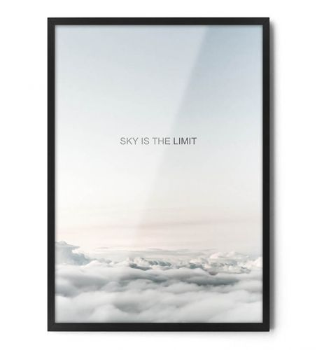 Plakat SKY IS THE LIMIT w kategorii PLAKATY FOTO / PLAKATY