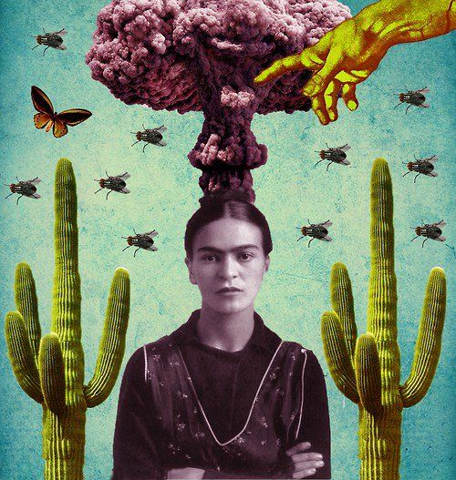 frida mash-up /// unknown artist