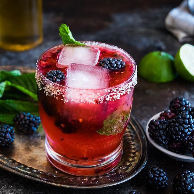 blackberry vanilla tequila mojito: Don't be fooled by its name: this is not an overly-sweet…