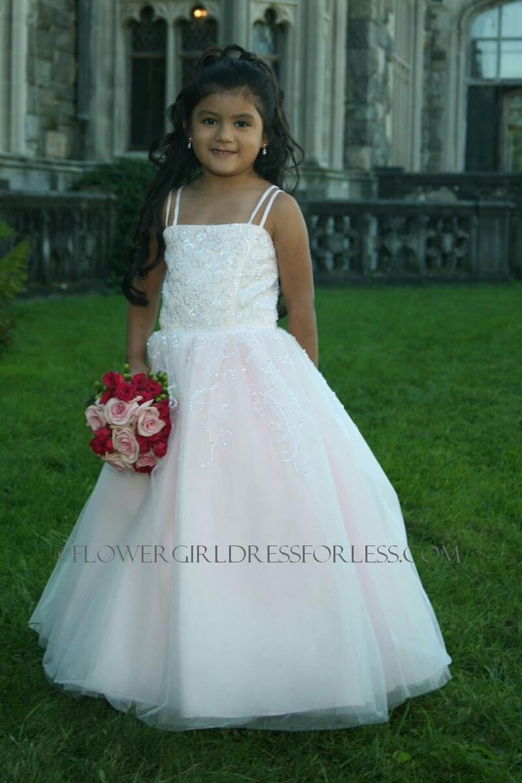 42 best Pink Flower Girl Dresses images on Pinterest   Bridesmaids ...