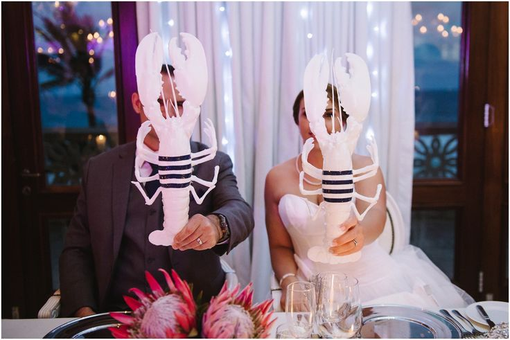 Brightgirl Photography. Lobsters #lobsters #brideandgroom #theoysterbox