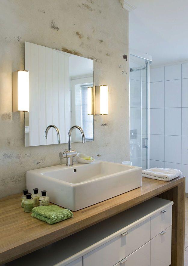 Фотография: Ванная в стиле Современный, Восточный, Интерьер комнат, Мебель и свет, Советы, светодиодное освещение, проектирование освещения, планировка ванной комнаты, как выбрать освещение для ванной, светильники для ванной – фото на InMyRoom.ru
