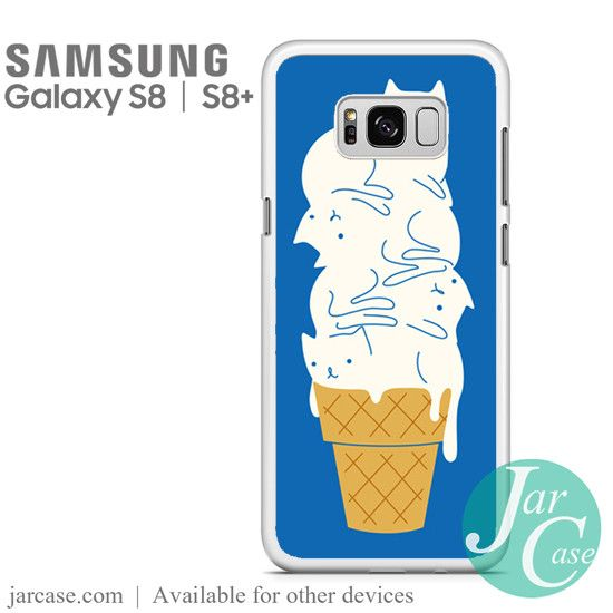 ice cream cone cats Phone Case for Samsung Galaxy S8 & S8 Plus