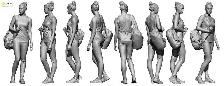 Lineup_01.jpg (2367×912) #3dScan #character art #nimeshbaidhya
