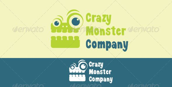 Crazy Monster Company  #GraphicRiver         Crazy Monster Company Logo Design  	 This pack includes:  	 - Logo file in .AI and .EPS and .JPG formats - Instructions - Link for used font -These files are fully editable  The name of the font is KG Dancing on the Rooftop.