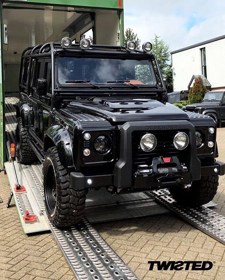 Twisted Automotive Op Instagram Some More Of The Triplets Heading To The Uae Land Rover Models Land Rover Defender Land Rover