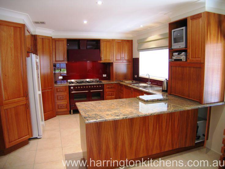 lovely modern timber kitchen designs | home design