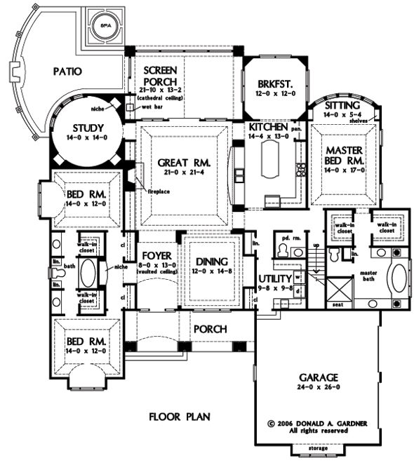 106 best Floor plans images on Pinterest | Architecture, Floor ...