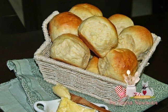 Receita de Pão fofinho tipo pão de couvert.