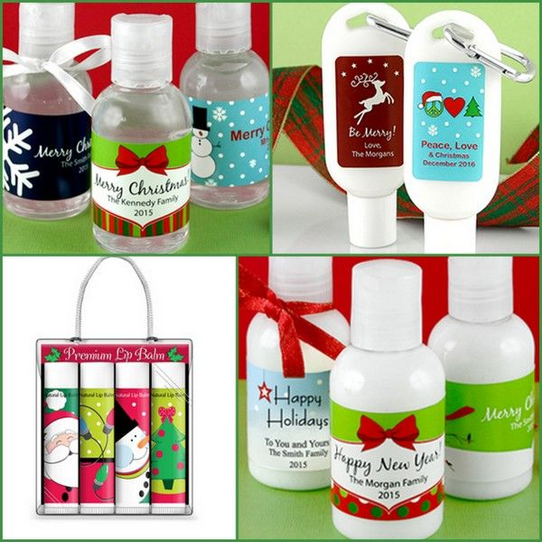 Holiday Personal Care Party Favors from hotref.com