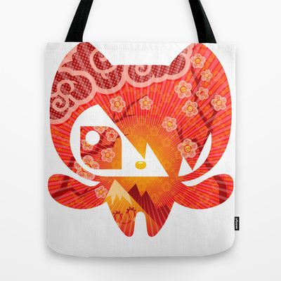 Takome+Tote+Bag+by+chobopop+-+$22.00