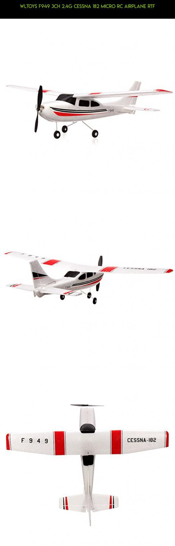 WLtoys F949 3CH 2.4G Cessna 182 Micro RC Airplane RTF #technology #drone #shopping #kit #fpv #plans #camera #wltoys #products #gadgets #parts #3ch #tech #racing