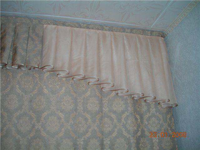 Картинки по запросу бантовые складки на шторах фото