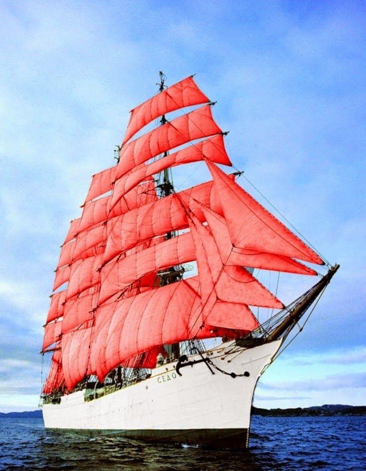 "Tall Ship ""Sedov""              ⛵ Marynistyka.org, ⛵ Marynistyka.pl, ⚓ Marynistyka.waw.pl ⚓  Sklep.marynistyka.org ⚓"