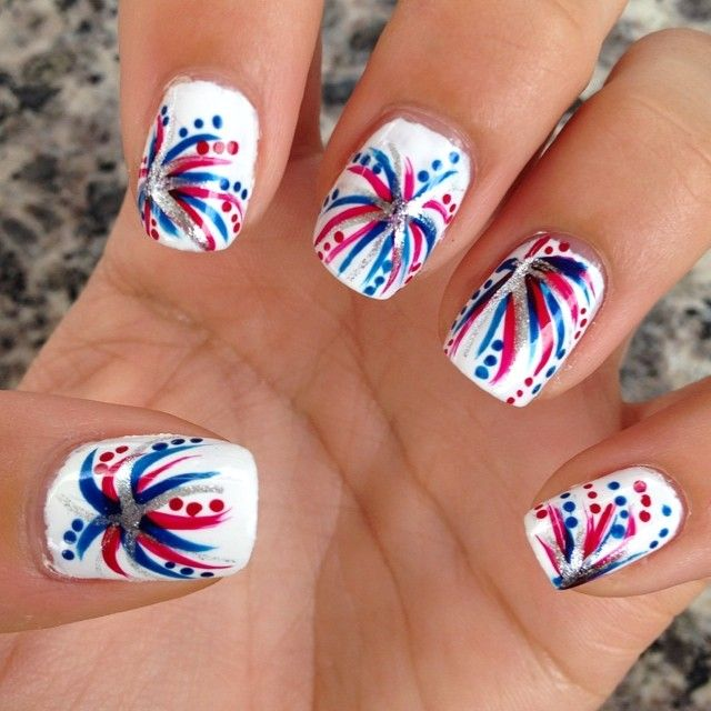 Best 25+ Firework nails ideas on Pinterest | New years ...