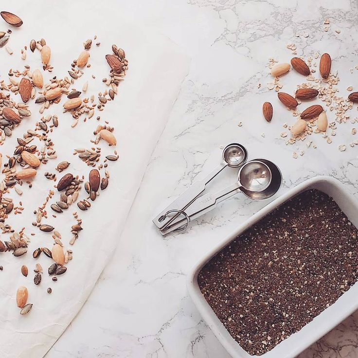 Cooking up some treats in the kitchen today. Originally I was making cashew and vanilla energy balls but had the idea to squish all the mix into a roasting dish and cut them into little flapjacks once set. • • • #sunday #afternoon #cooking #kitchen #healthy #food #instafood #happy #cashew #vanilla #chiaseeds #pumpkinseeds #energy #energyballs #snacks #organic #veggie #vegan #plantbased #nutrition