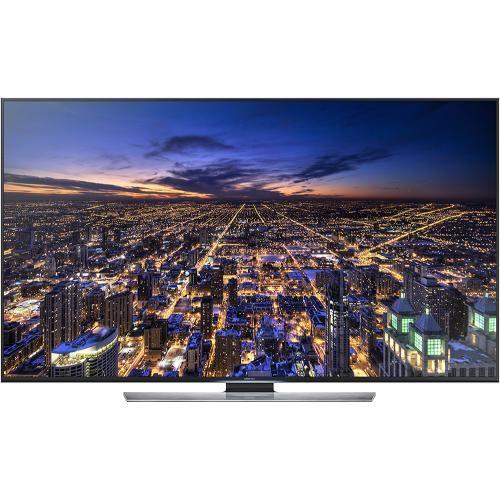 "Samsung - 65"" Class (64-1/2"" Diag.) - LED - 4K Ultra HD TV (2160p) - 120Hz - Smart - 3D - HDTV - Front Zoom"