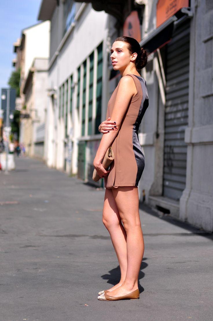 Milan Fashion Week Street Style : Marina Meliksitova #milan #fashionweek #streetstyle #streetfashion #style #fashion